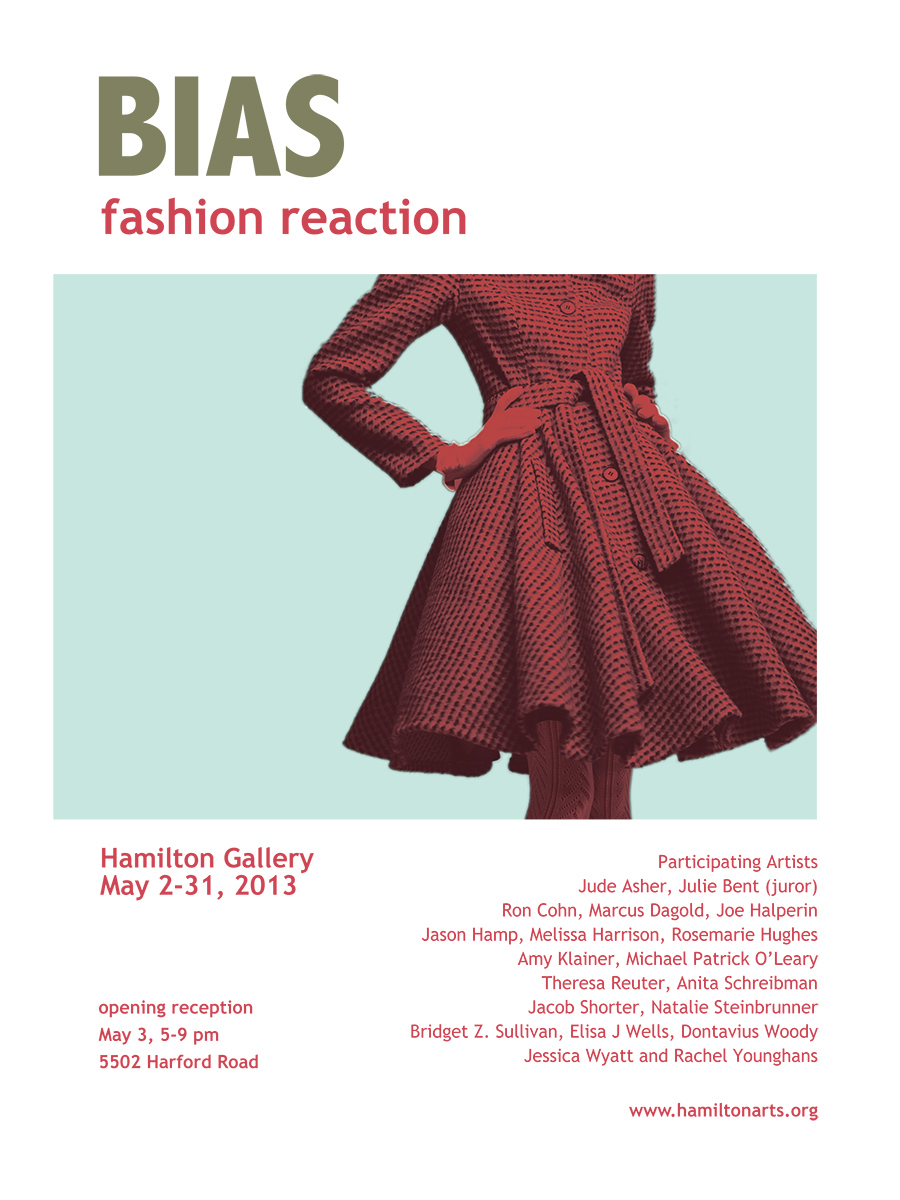 BIAS - fashion reaction, Exhibition 2 May - 30 May