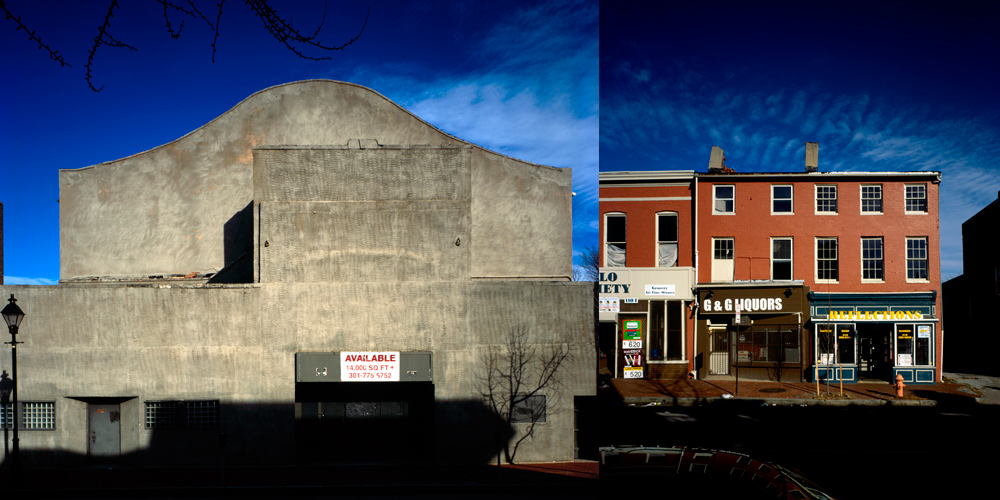 images of buildings in Baltimore City